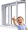 Детские замки на окна ПВХ