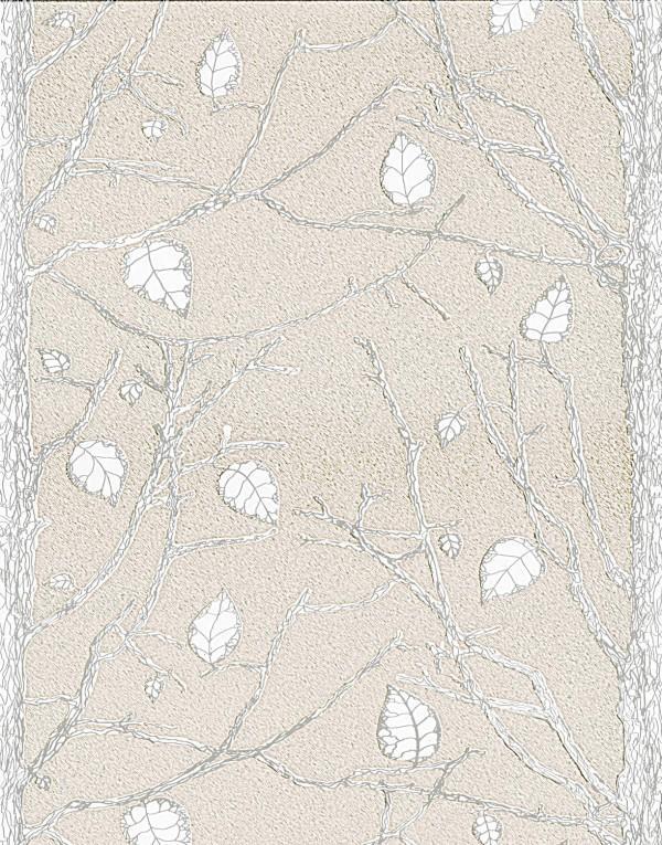 Панель ПВХ для отделки балкона коллекция Фарн Зимние Узоры 193-2