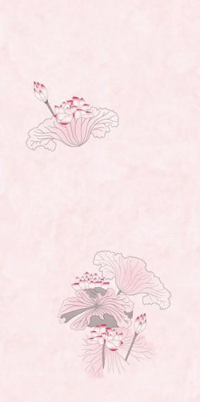 Панель ПВХ для отделки балкона Цветы Азии 9006/2
