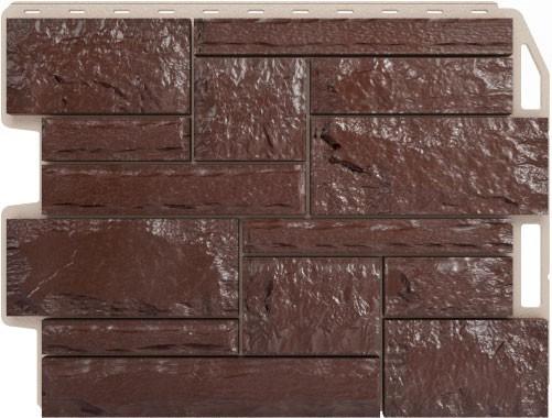 Панель для отделки балконов: бут темно - коричневый