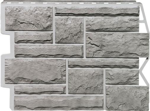 Панель для отделки балконов: бут серый жемчуг