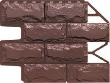 Доломит темно - коричневый безшовный