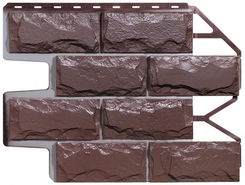 Доломит темно - коричневый