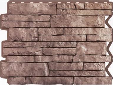 Панель для отделки балконов: парфир коричневый