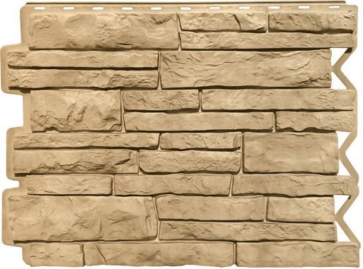 Панель для отделки балконов: парфир золотой песок