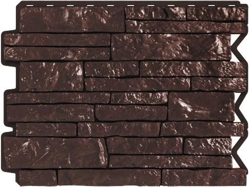 Панель для отделки балконов: парфир темно - коричневый