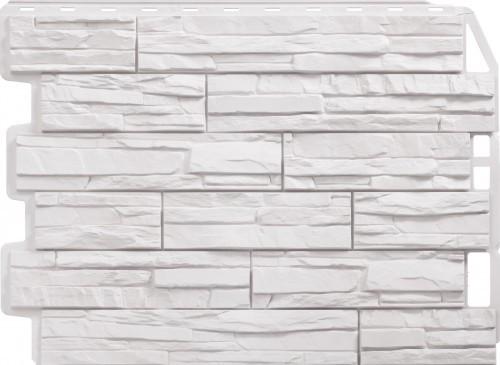Панель для отделки балконов: скол белый