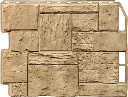 Панель для отделки балконов: туф золотой песок