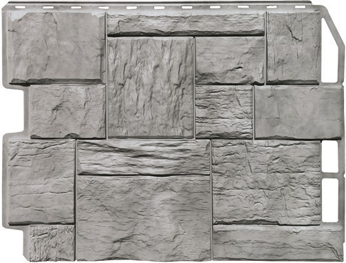 Панель для отделки балконов: туф серый жемчуг