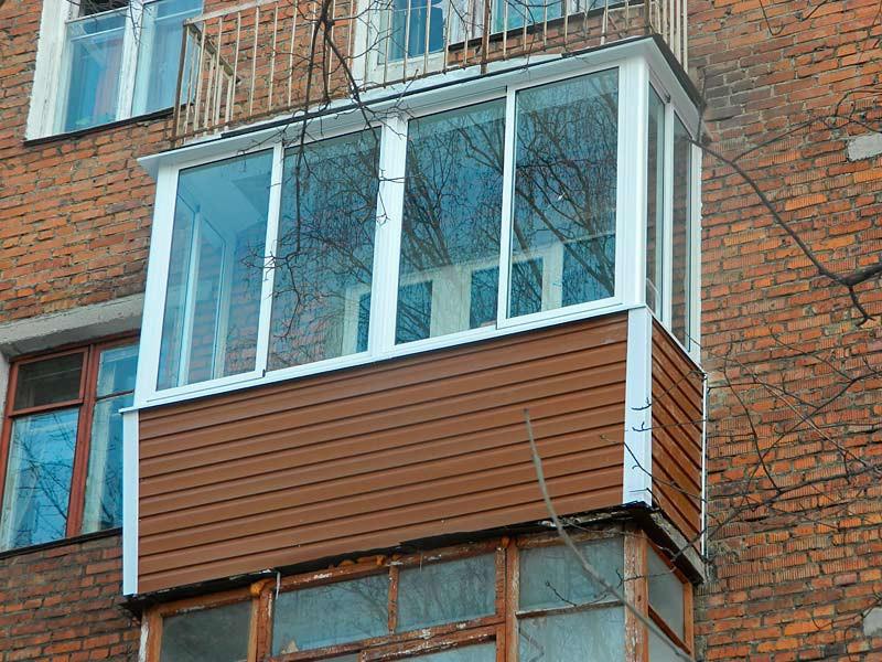 Балкон после ремонта (отделки)