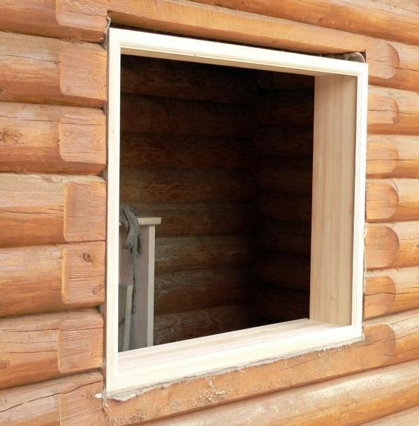 Монтаж обсады (окосячки) в деревянном доме