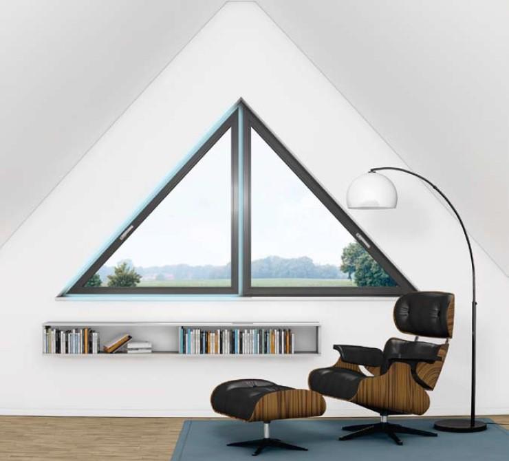 Окна - арки, трапеции, треугольники
