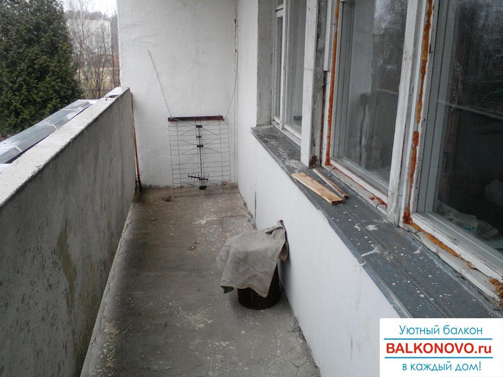 Остекление и ремонт старых балконов и лоджий