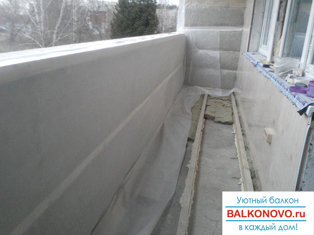 Остекление и отделка балконов и лоджий в Ступино