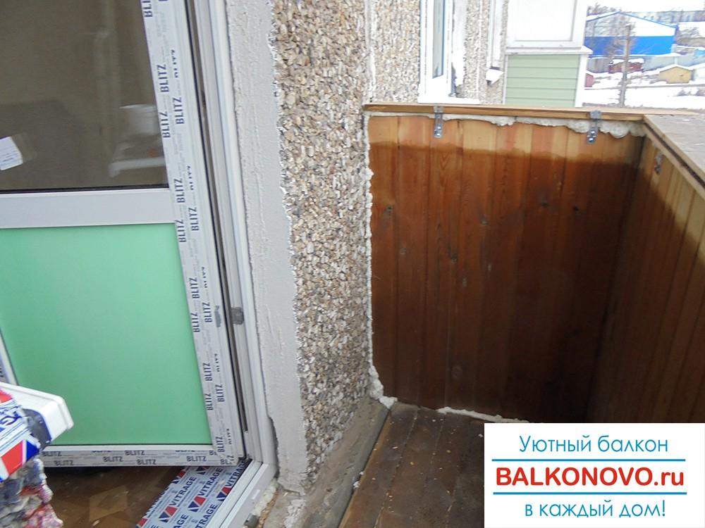 Установка пластиковых окон в балконный блок