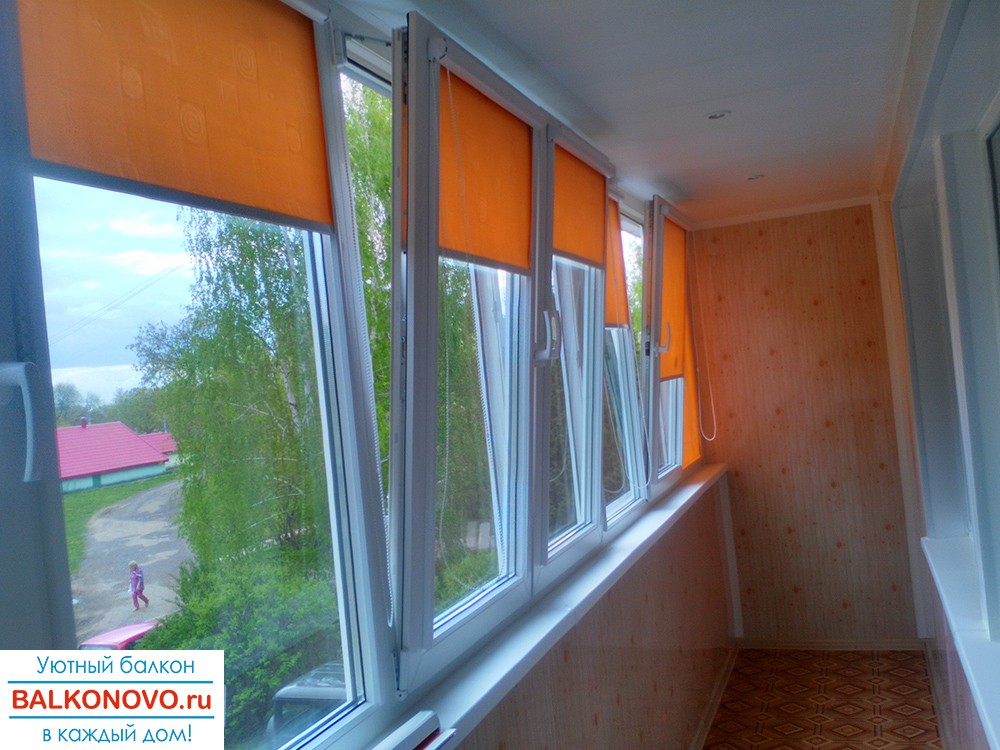 Остекление пластиковыми окнами лоджии в Ступино