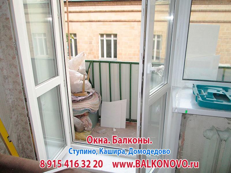 Пластиковые окна в квартире в Домодедово