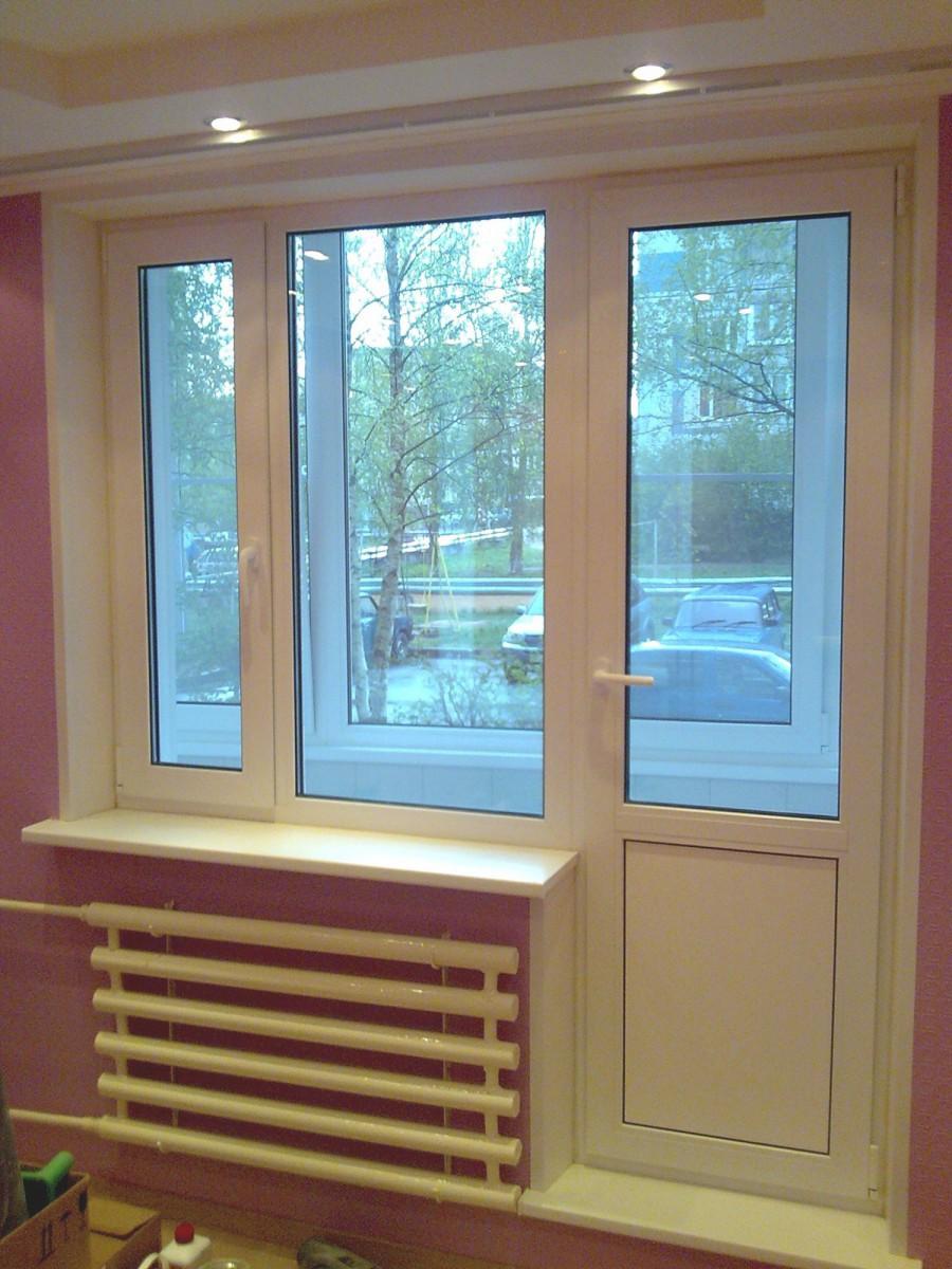 Балконный блок: балконная дверь и окно - Ступино, Кашира, Михнево