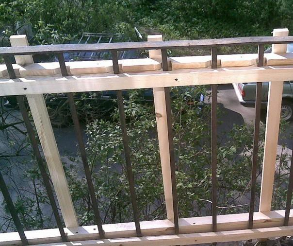 Остекление балкона и отделка балкона сайдингом - Ступино, Кашира, Домодедово