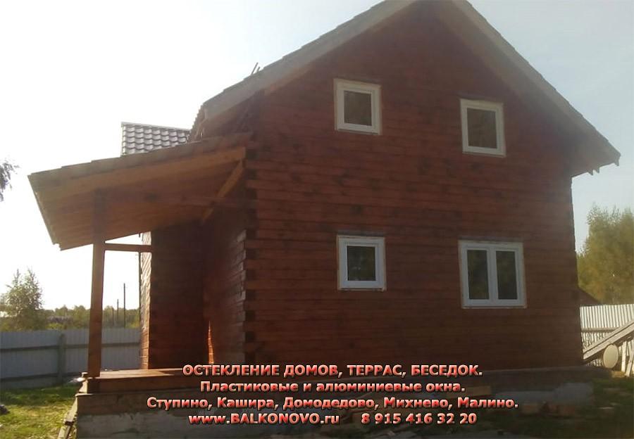 Терраса до остекления - Домодедово