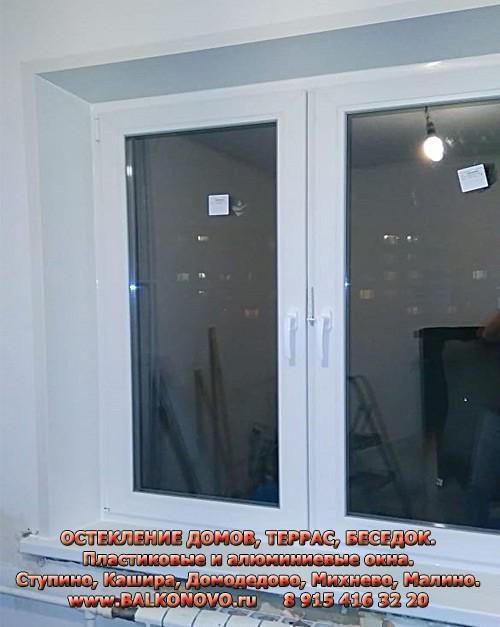 Пластиковое окно в квартире после пожара - Михнево