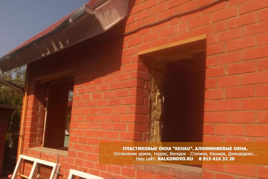 Установка пластиковых окон Рехау в дом - Михнево