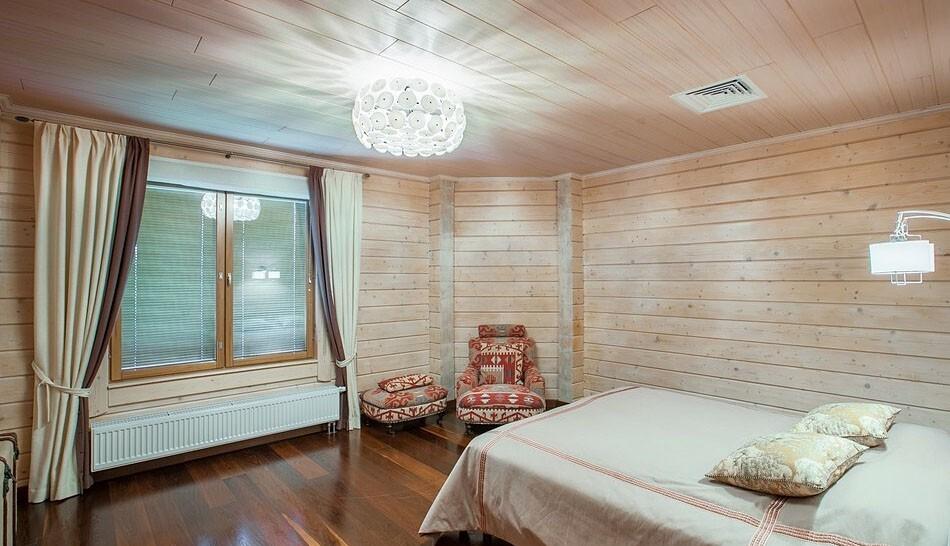Внутренняя отделка деревом, вагонкой, блокхаусом домов - Ступино, Домодедово, Кашира