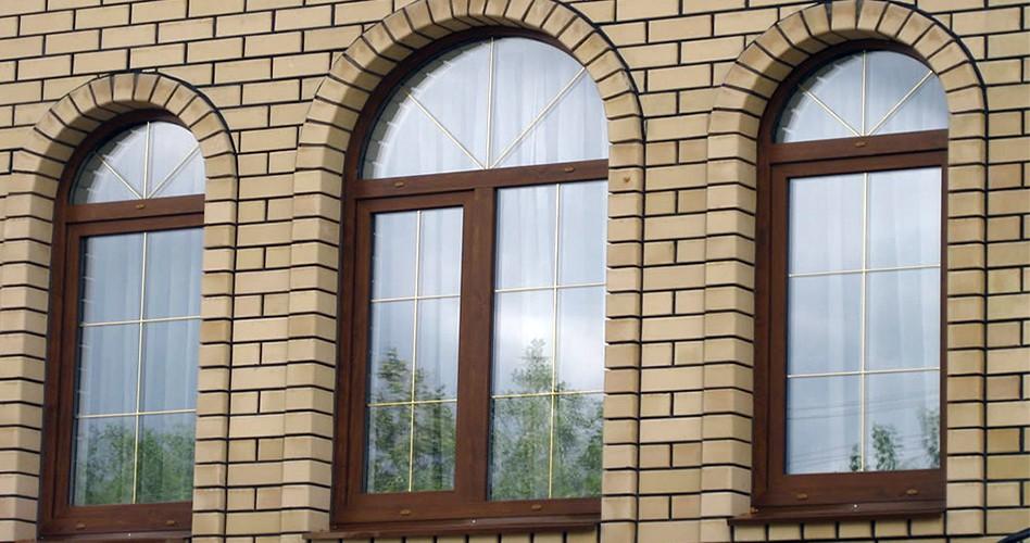 Арочные окна, окна - арки