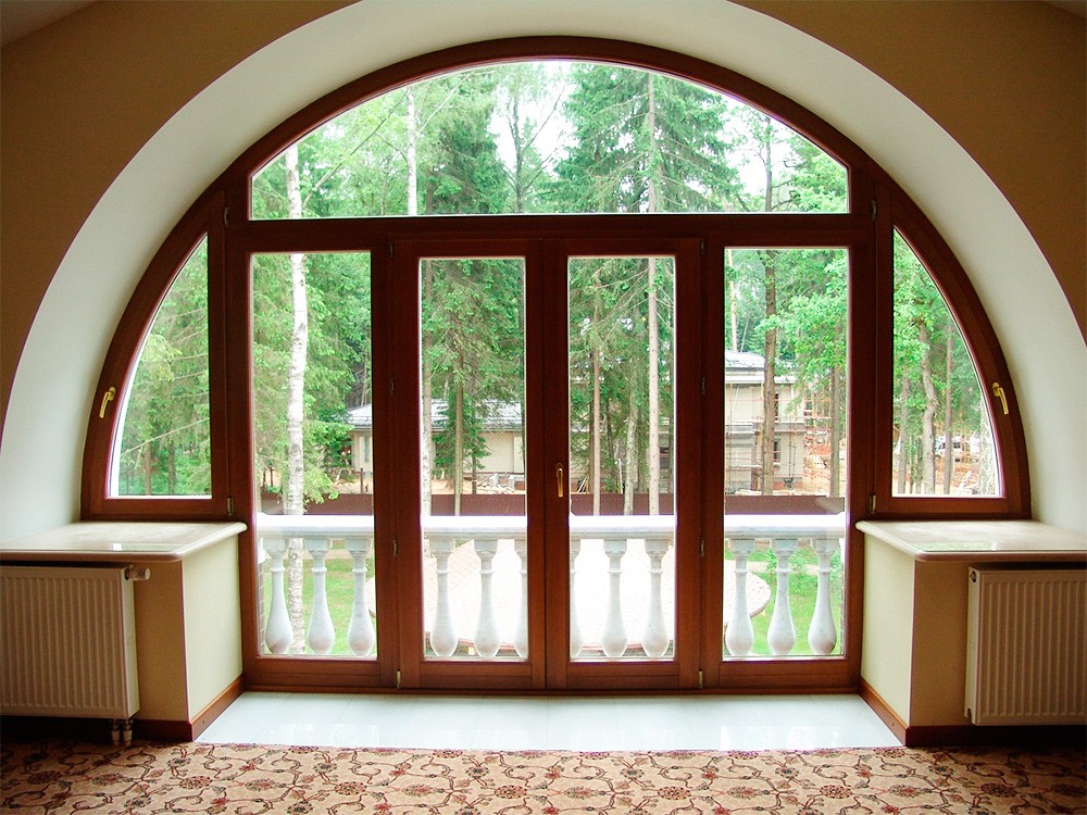 Арочная дверь, дверь - арка