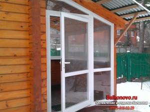 Алюминиевые окна в ступино, кашире, михнево, домодедово, вид.